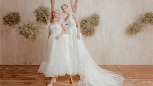 Vania Romoff's Dreamy Bridal Collection Will Make You Want To Say