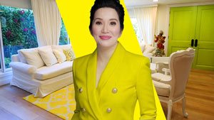 Kris Aquino's Former Three-storey House In Quezon City