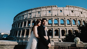 This Couple's Wedding In Rome Is Incredibly Chic And Dreamy