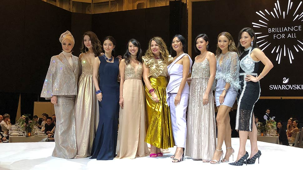 Marie Lozano and Nicole Andersson Honored at the Swarovski Gala