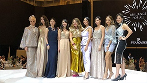 Marie Lozano And Nicole Andersson Honored At The Swarovski Gala