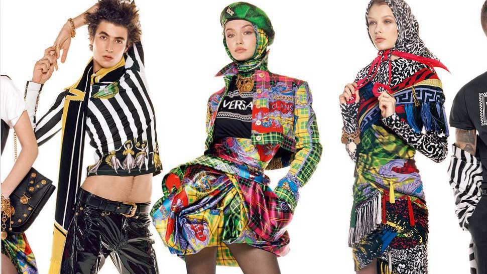 Versace Enlists 54 Models For An Epic Photo That Celebrates Diversity