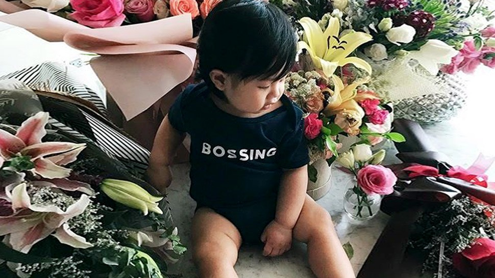 Check Out Baby Xavi's Super Stylish Christening Party