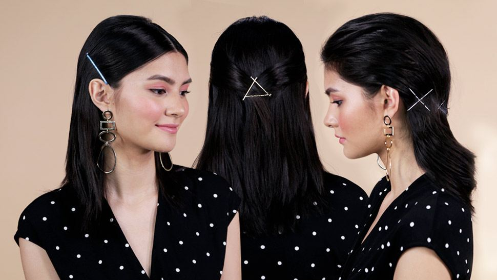 3 Chic Hairstyles You Can Do with Bobby Pins