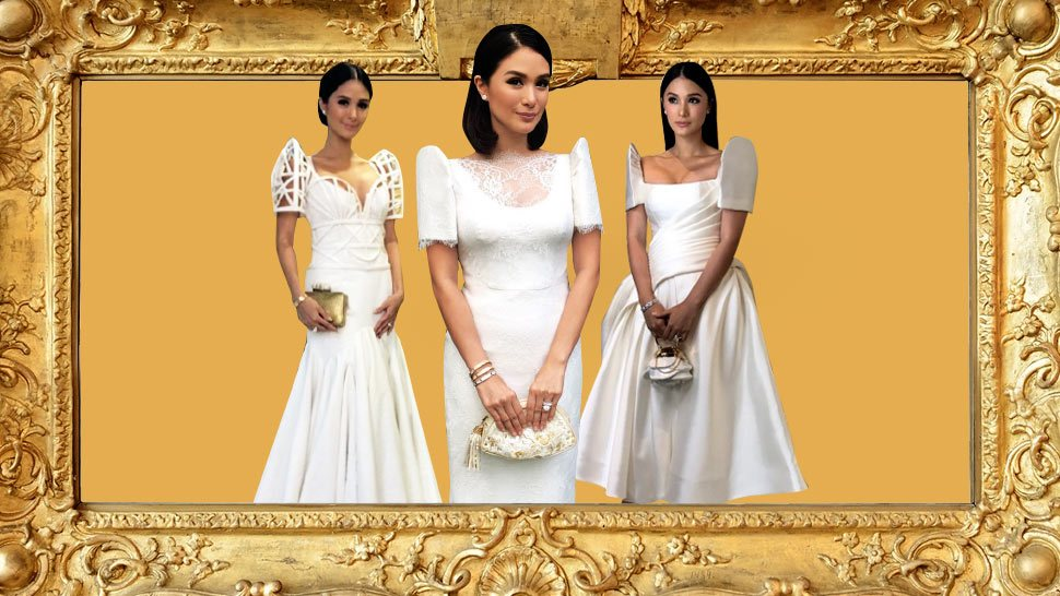 Here's a Look at Heart Evangelista's SONA Outfits Through the Years