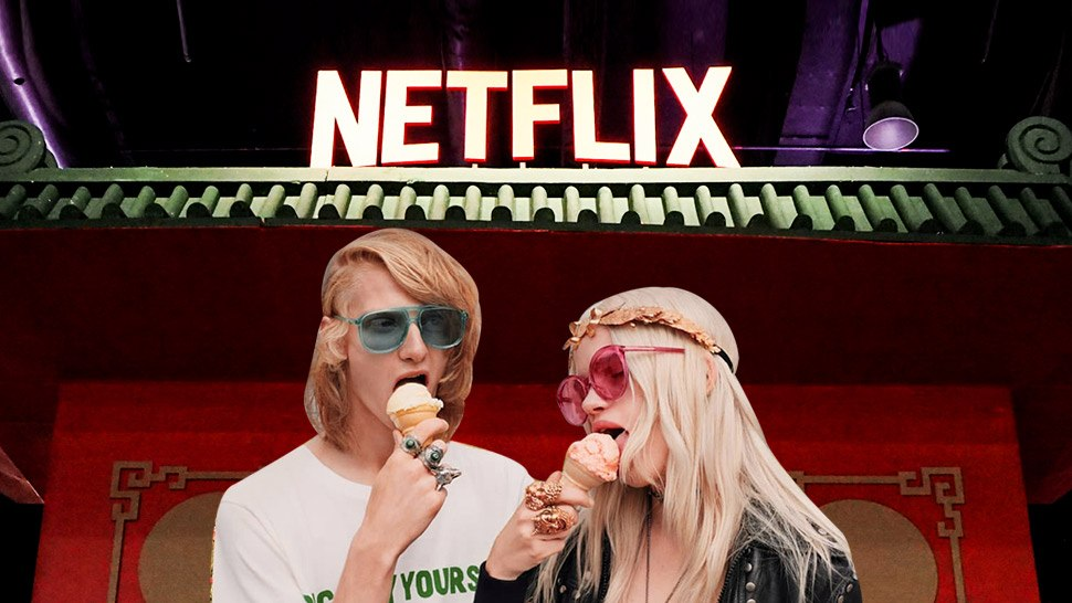 You Need to Check Out Netflix's Cool Instagrammable Booth This Weekend
