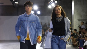 How To Wear Denim Now, As Seen On These Local Celebrities