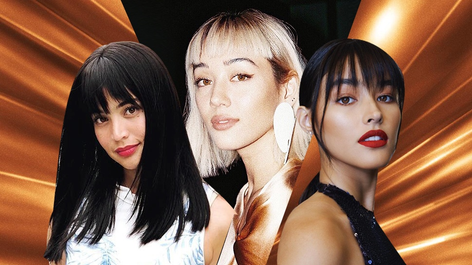 30 Celebrity Selfies That Will Finally Convince You To Cut Your Bangs