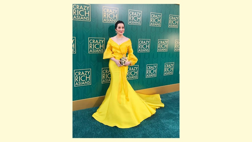 Kris Aquino Wears Michael Leyva to the Crazy Rich Asians Premiere
