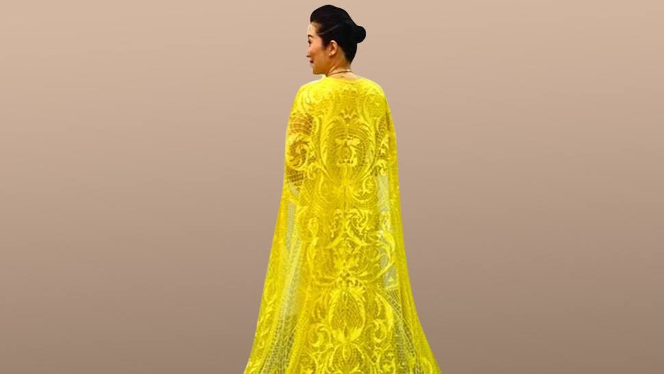 We Need To Talk About Kris Aquino's Gorgeous Cape In Crazy Rich Asians