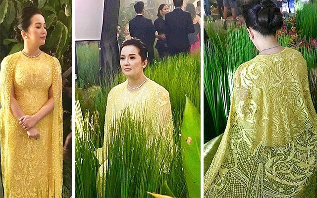 This Is The Exact Dress Kris Aquino\'s Wearing In Crazy Rich Asians ...
