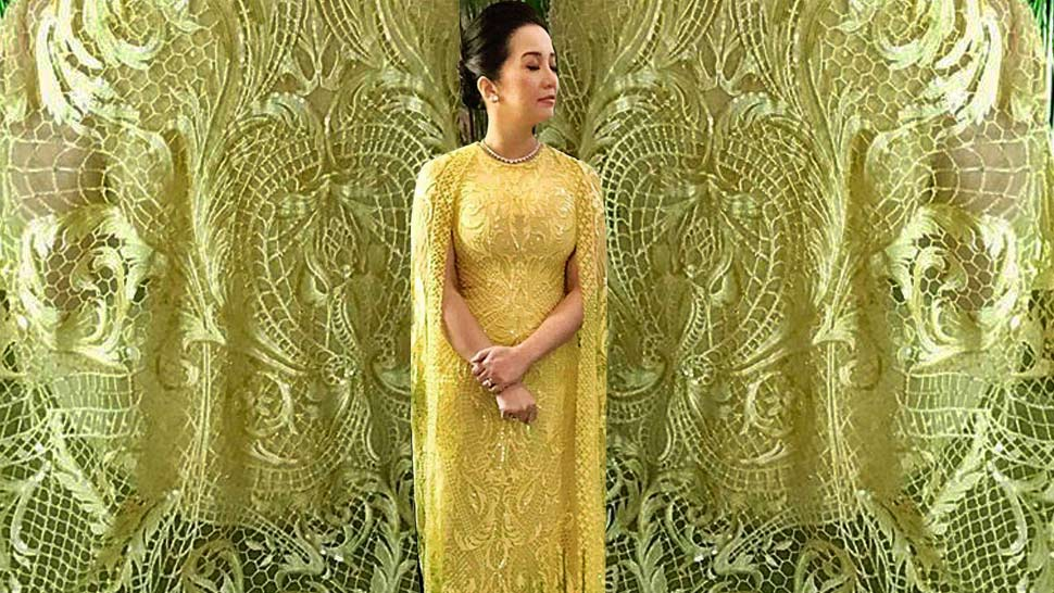 This Is The Exact Dress Kris Aquino's Wearing In Crazy Rich Asians