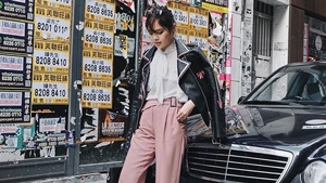Lotd: 3 Ways To Wear Pink Trousers, According To Bea Marin