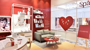 Clarins' Biggest Store In Manila Doubles As An Express Spa