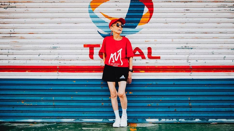 This 90-Year-Old Instagram Star Has Better Street Style Game Than You