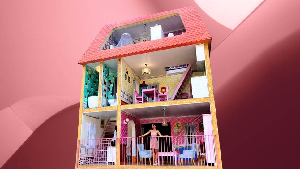 This Life-Sized Dollhouse Will Make Your Barbie Girl Dreams Come True