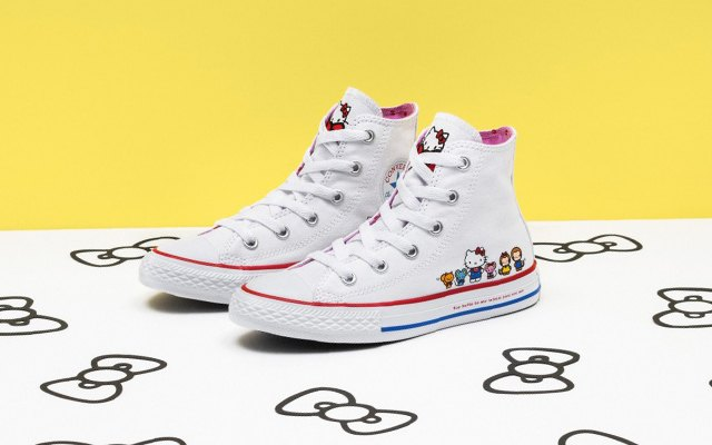 ... the Hello Kitty print. Chuck Taylor All Star High Top bebdec0ae