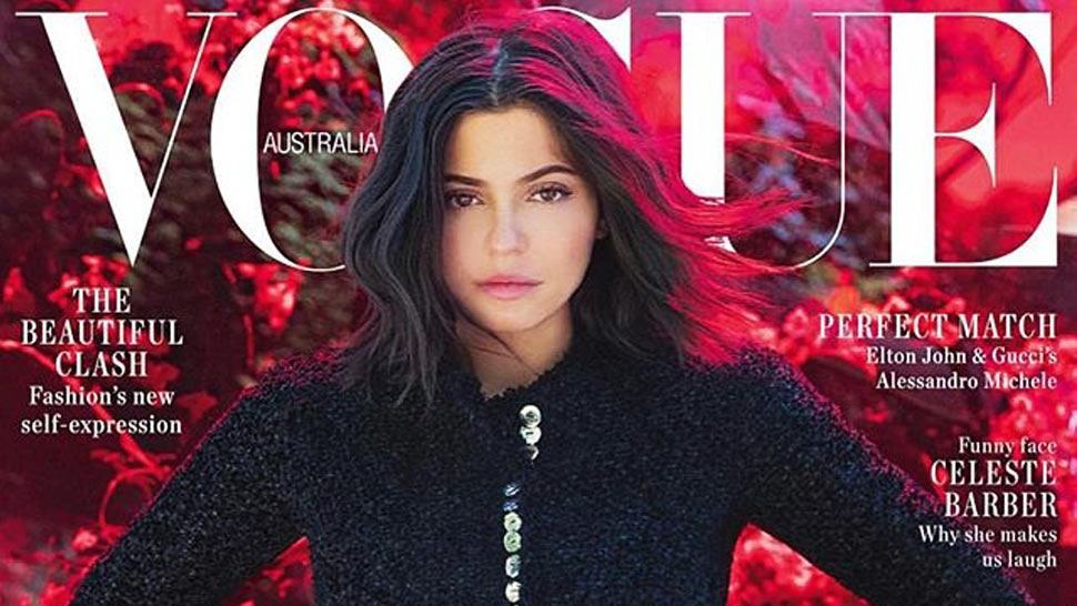 "The Internet Is Calling Out Kylie Jenner For Her ""no-makeup"" Vogue Cover"