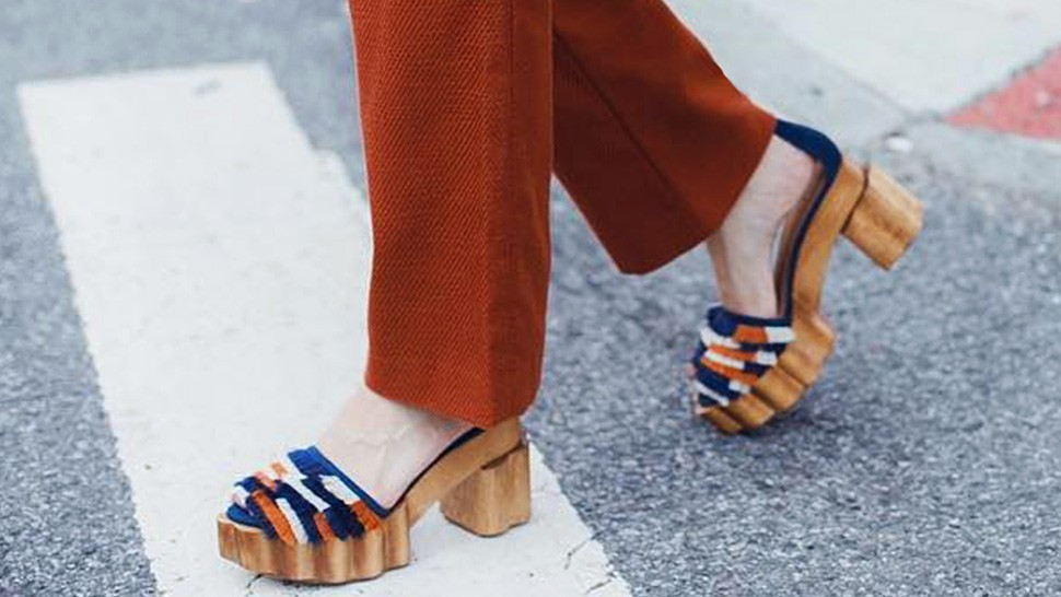 Here's How You Should Be Wearing Platform Heels in 2018