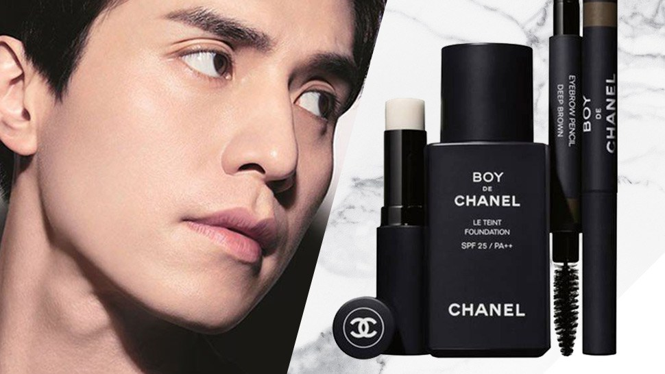 Chanel Is Releasing A Makeup Line Made Especially For Men