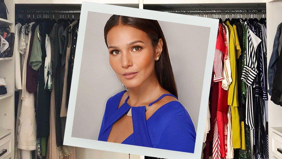 Here's How Iza Calzado Is Decluttering Her Closet