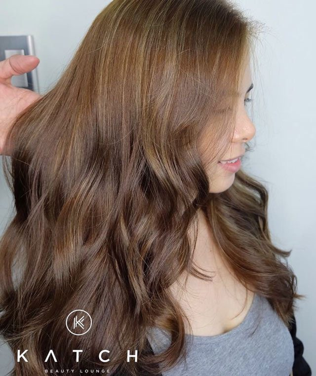 This Hair Coloring Technique Is A Genius Way To Hide Your ...