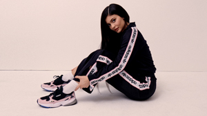 Kylie Jenner Officially Joins Adidas Wearing A Classic '90s Sneaker