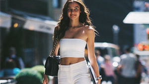 Kelsey Merritt Went To The Vsfs Casting Already Looking Like A Supermodel