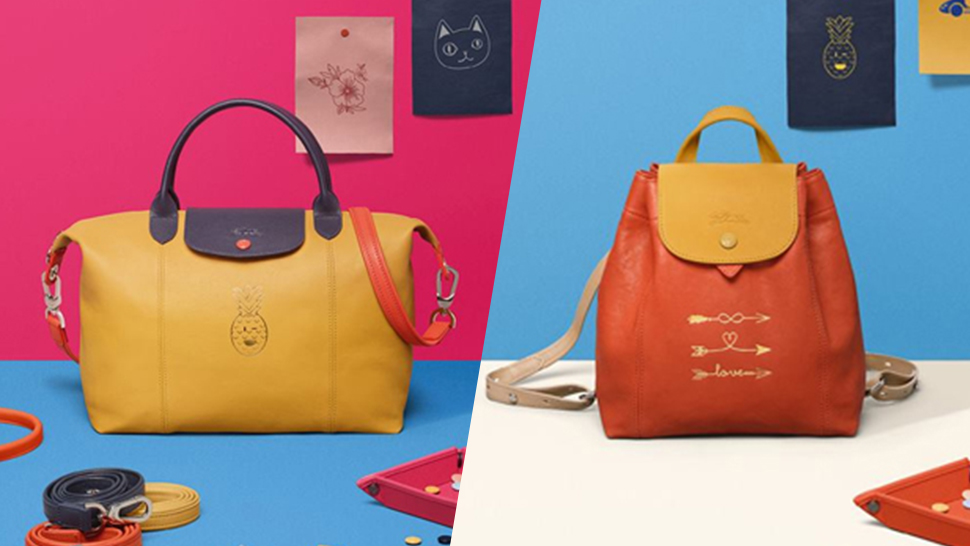 Here's How You Can Get Personalized Longchamp Totes