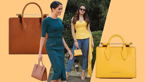 Sarah Lahbati And Meghan Markle Are Both Fans Of This Designer Bag