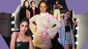 All The Disco-themed Outfits We Spotted At Juliana Gomez's 18th Birthday