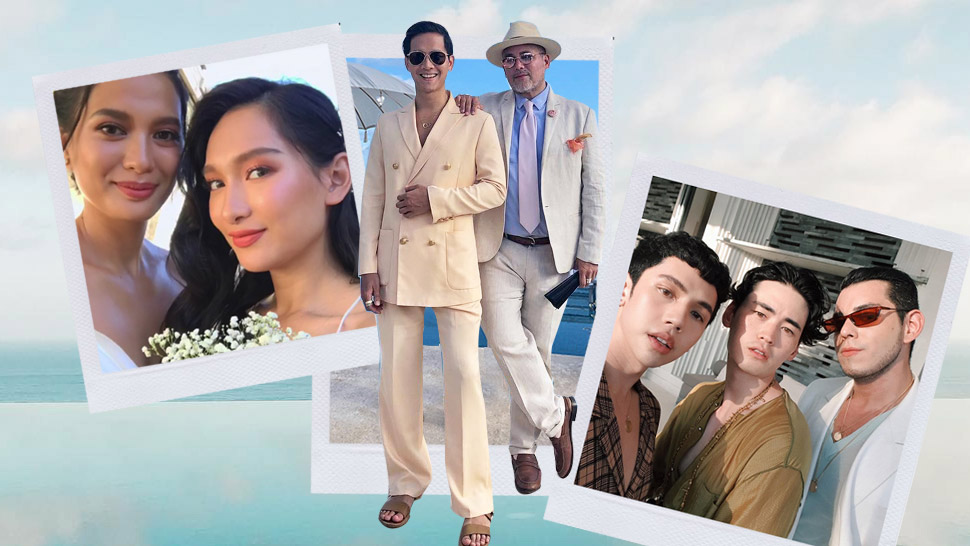 The Stylish Guests We Spotted At Martine Cajucom And Cliff Ho's Wedding