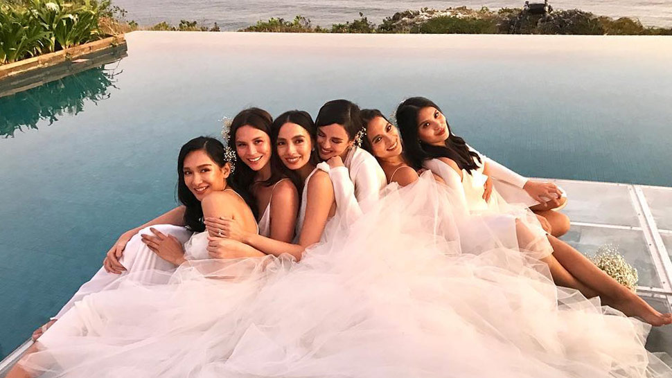 Here's How Martine Cajucom Planned All Her Bridesmaids' Looks