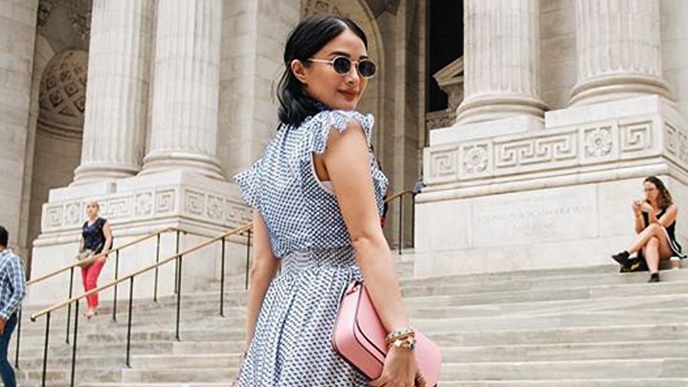 All The Outfits Heart Evangelista Wore To New York Fashion Week