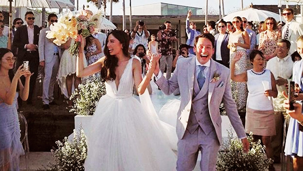 You'll Fall in Love with Martine Cajucom and Cliff Ho's Wedding Video