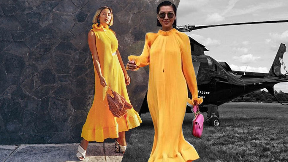 These Cool Girls Of Instagram All Seem To Love This Exact Yellow Dress
