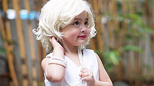 Zia Dantes Dressed As Marilyn Monroe Is The Cutest Thing You'll See Today