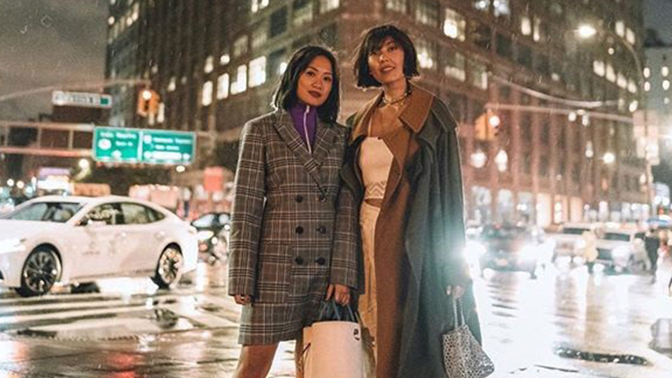 Here's A Look At All Of Liz And Laureen Uy's Outfits From Nyfw