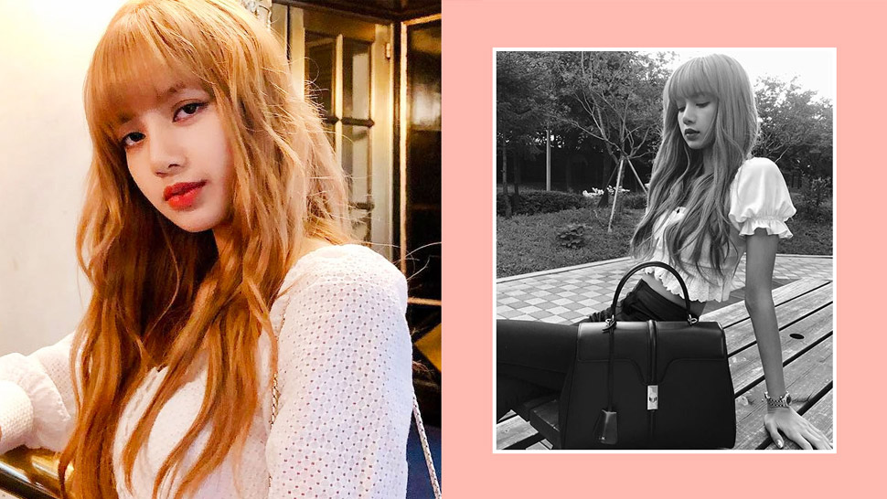 We're Obsessed With This Custom Designer Bag Worn By Blackpink's Lisa