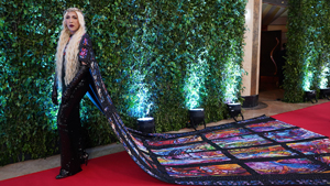 Vice Ganda Wore The Exact Michael Cinco Cape As J. Lo To The Abs-cbn Ball