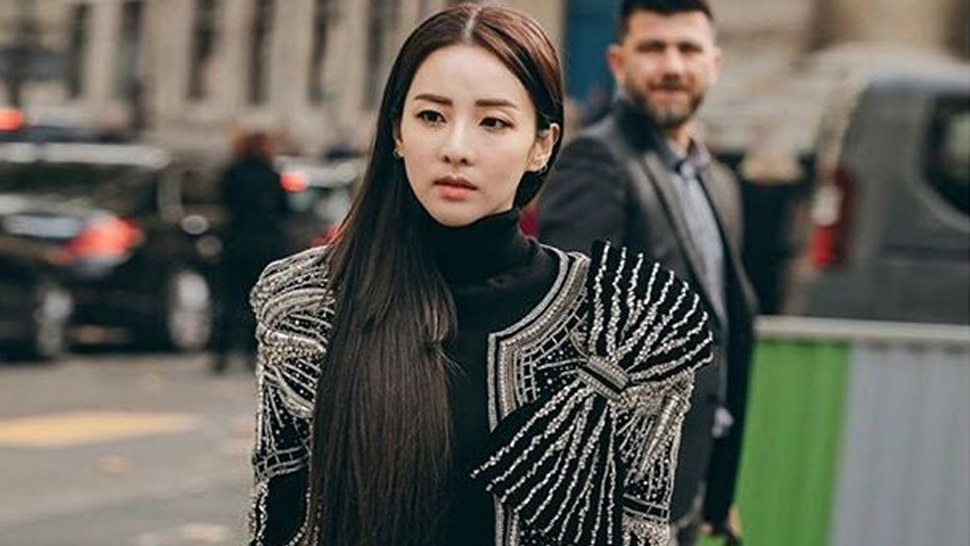 We're Obsessed with All of Sandara Park's OOTDs at Paris Fashion Week