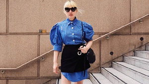 How To Style A Mini Skirt If It's Uncomfortably Short For You