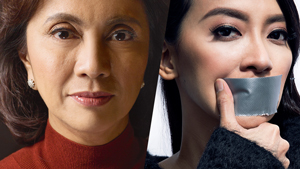 The Eyeliner Face-off: Mocha Uson Vs. Leni Robredo
