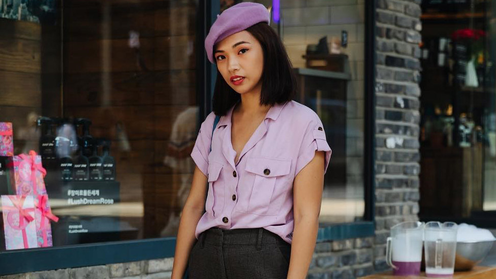 This Filipina Stylist Got Spotted By a Street Style Photographer in Seoul