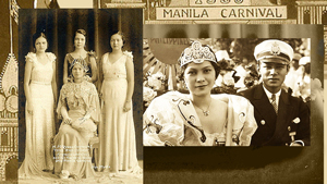 Meet The First Beauty Queens Of Manila