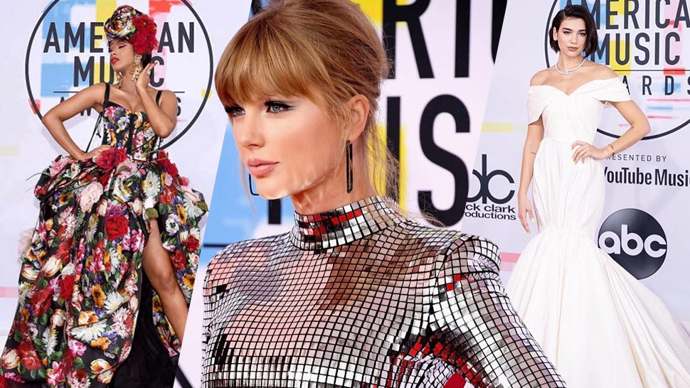 Taylor Swift, Dua Lipa, and More Stylish Looks We Loved from the AMAs 2018
