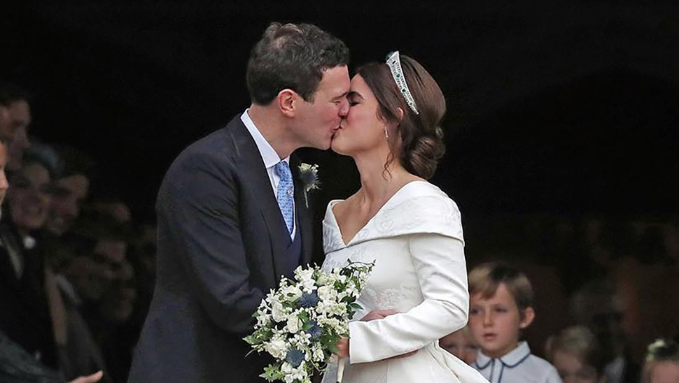 Here's What Princess Eugenie Wore To Her Royal Wedding