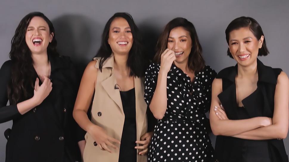 Georgina, Solenn, Belle, and Liz React to Their OOTDs Pre-Instagram