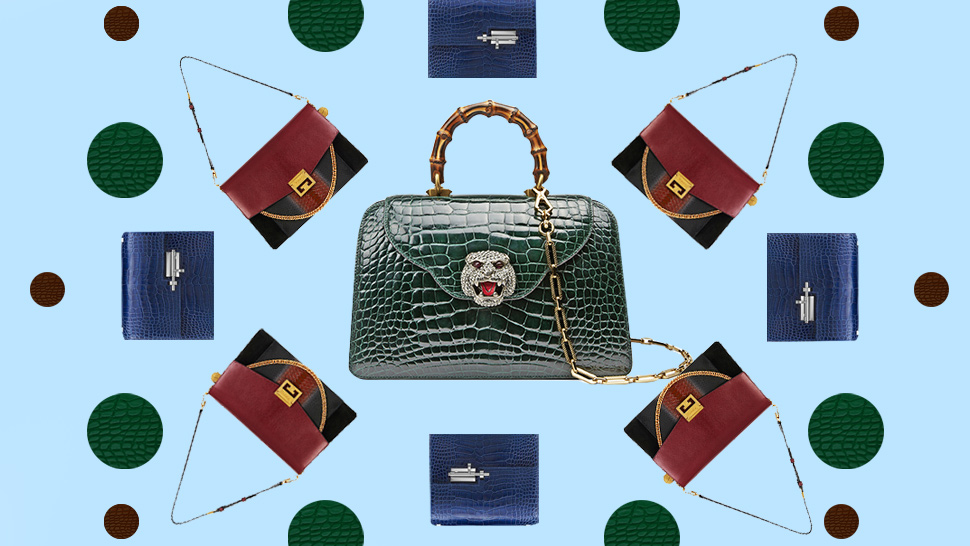 The 8 Most Jaw-Dropping Exotic Handbags of 2018