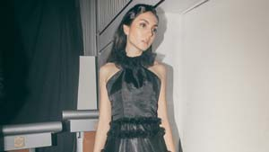 Juan Paolo Is Out To Prove That Black Evening Wear Is Anything But Boring